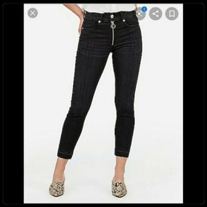 NWT Express Cropped Jeans
